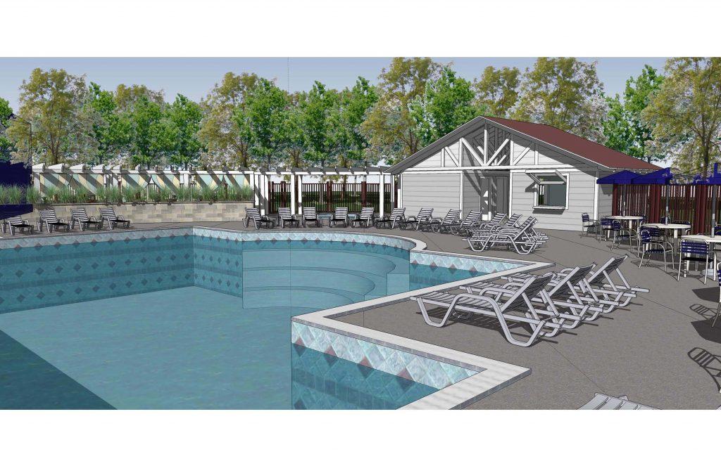 Island Hills Golf Club and Resort Pool and Gatehouse